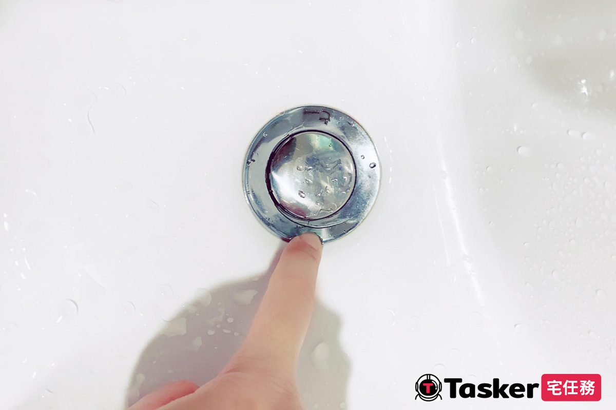 洗臉盆落水頭裂開