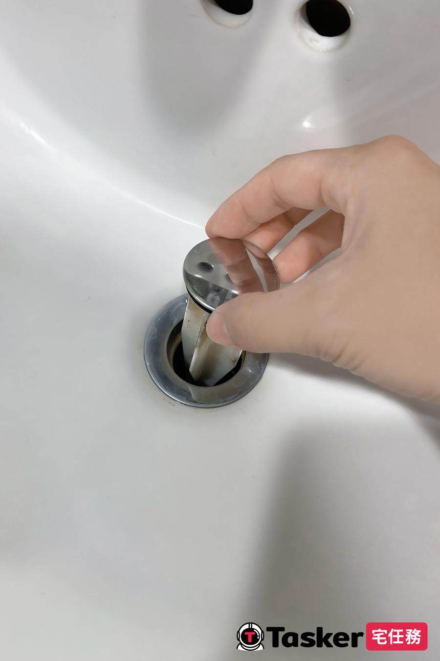 洗臉盆塞頭
